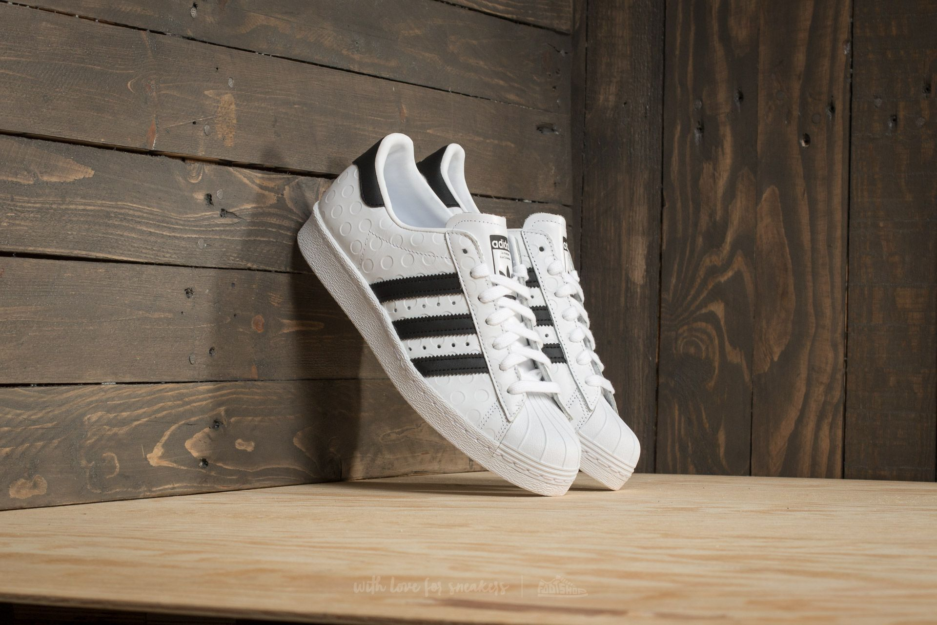 official photos 93bb4 157a6 adidas Superstar 80s W. Footwear White  Core Black  Footwear White