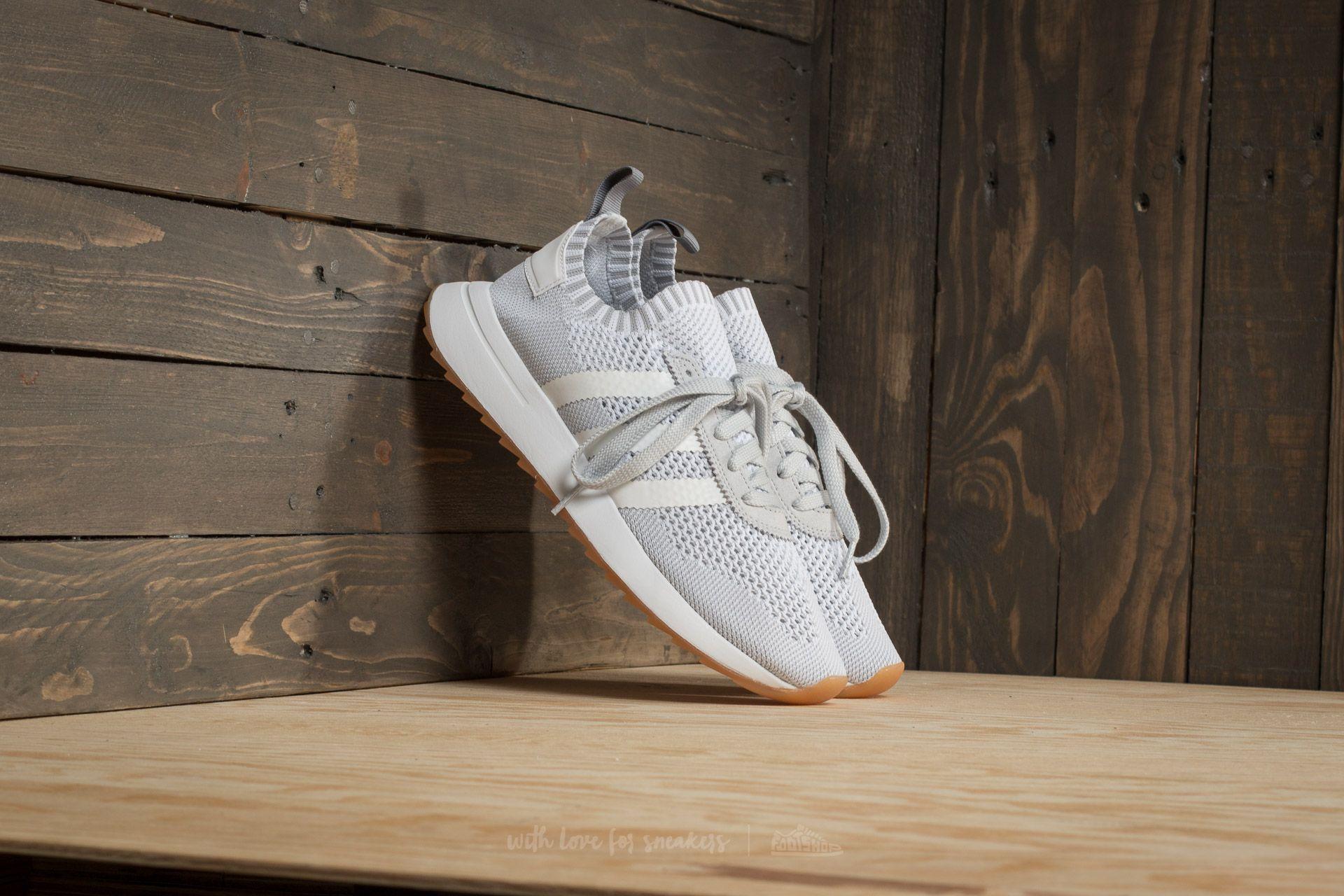 sports shoes 6a9f6 f8c96 adidas Flashback W Primeknit Ftw White Ftw White Clear Grey