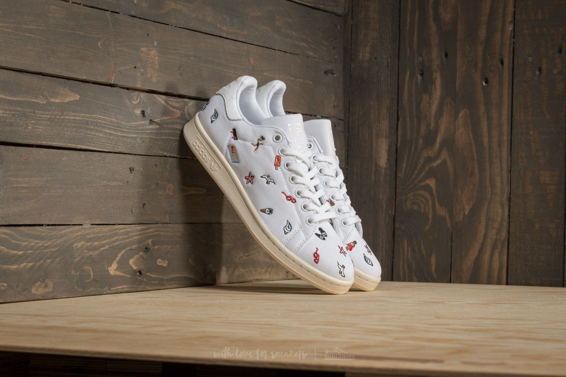 buy popular 296d3 144f9 adidas Stan Smith W Ftw White  Ftw White  Off White