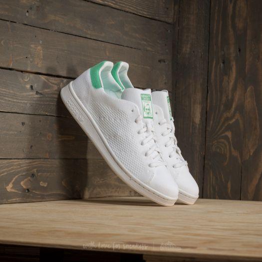 buy popular 433a7 3d303 adidas Stan Smith Primeknit Ftw White/ Ftw White/ Green ...