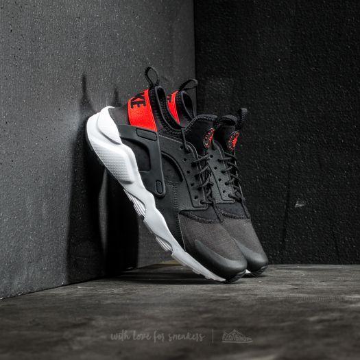rigidez Imperialismo origen  Women's shoes Nike Air Huarache Run Ultra GS Black/ Max Orange-White