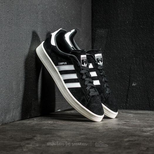 on sale 59ba2 29335 adidas Campus Core Black Ftw White Chalk White