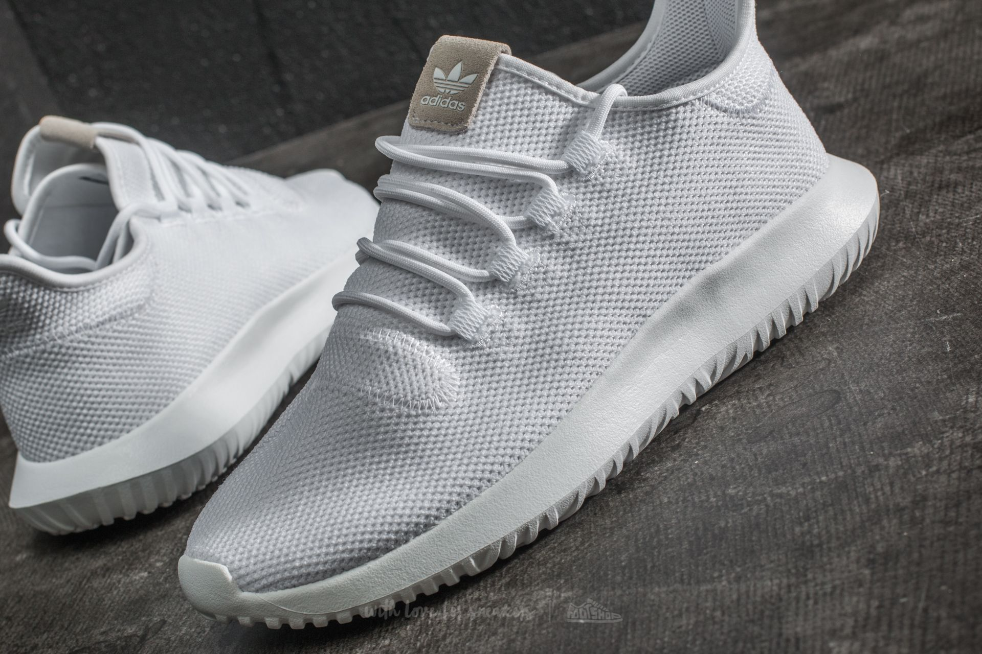 hot sale online a3d1f f689a adidas Tubular Shadow Ftw White/ Core Black/ Ftw White ...