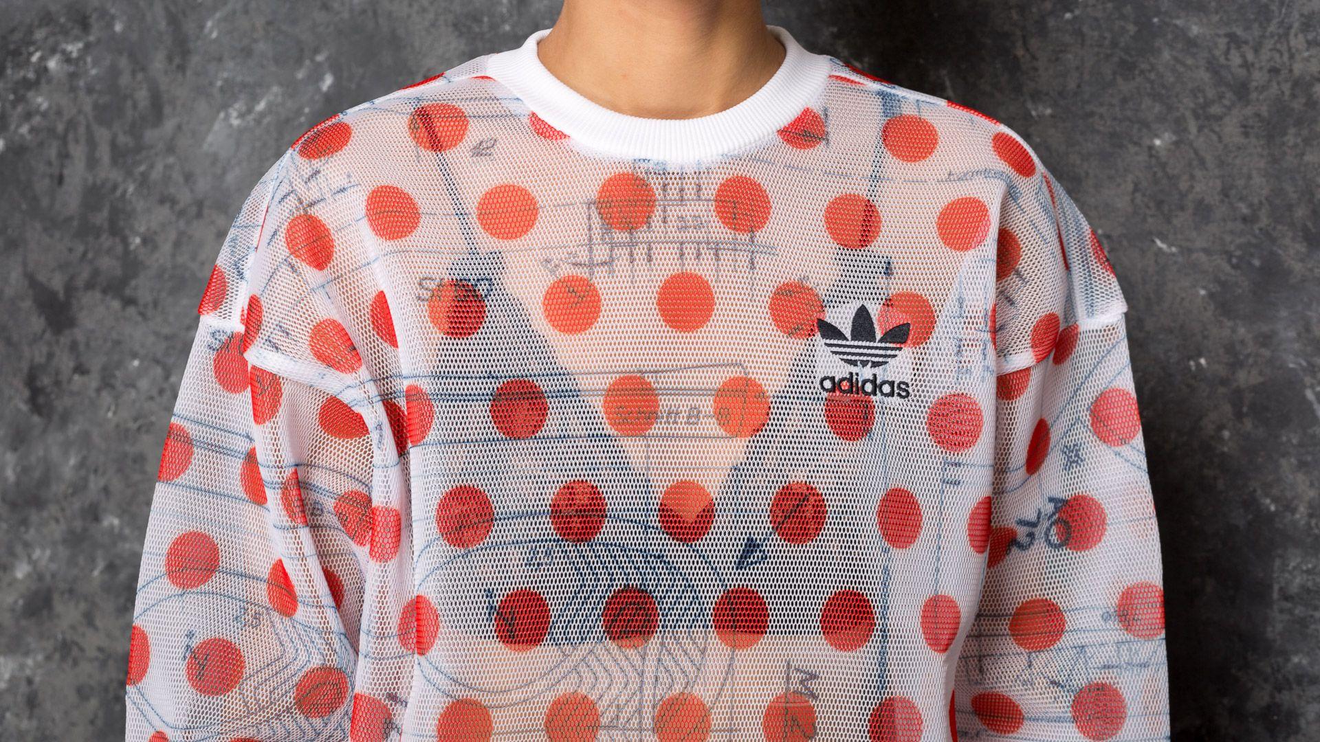 adidas Osaka Sweatshirt White Bold Orange | Footshop