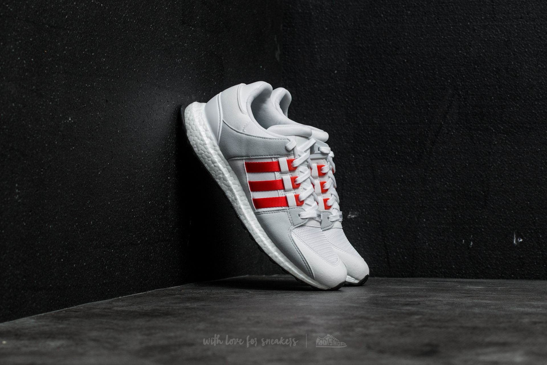 820feba767e0d adidas EQT Support Ultra Ftw White/ Bold Orange/ Clear Grey | Footshop