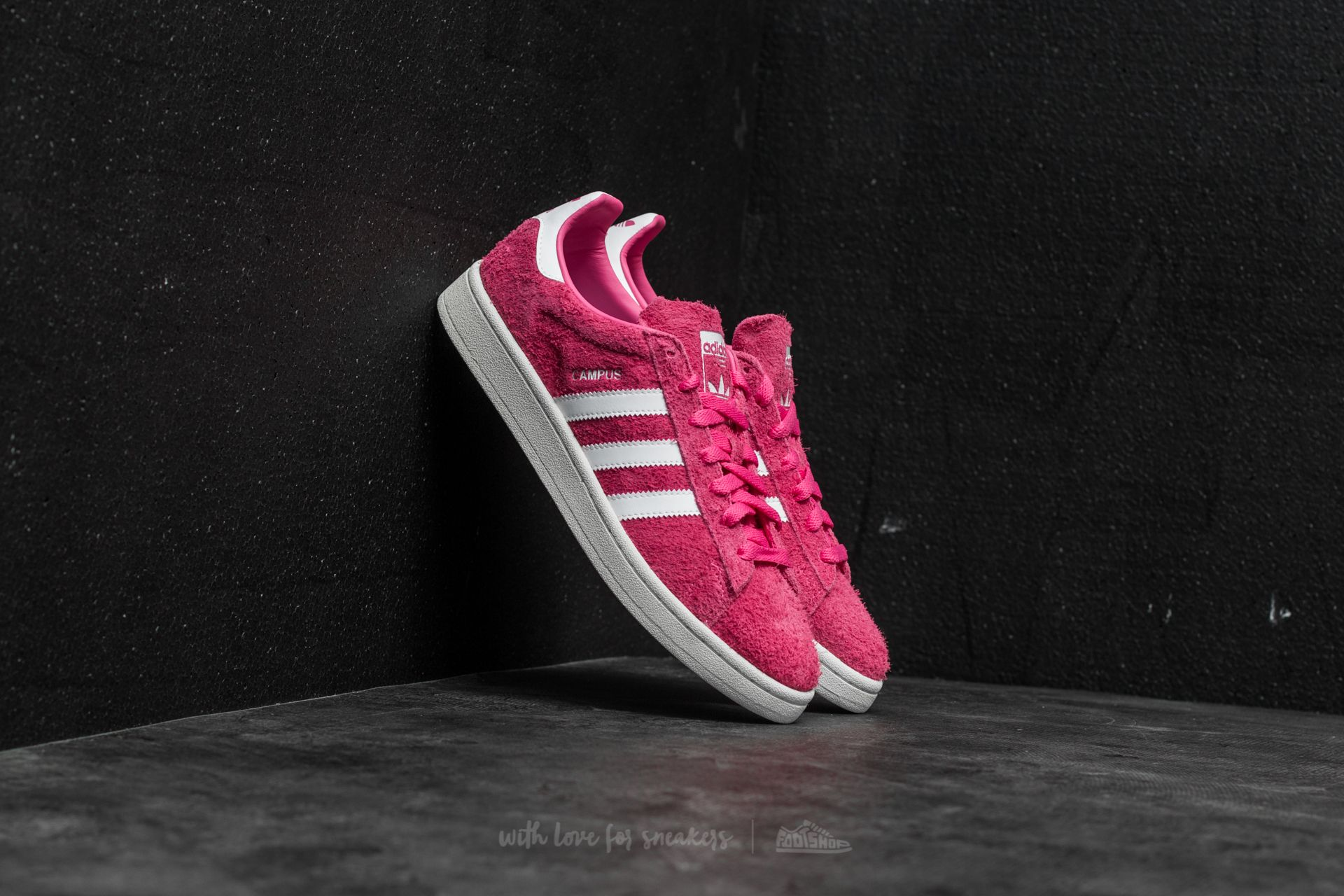 brand new fa054 31d92 adidas Campus Semi Solar Pink Ftw White Cream White at a great price £