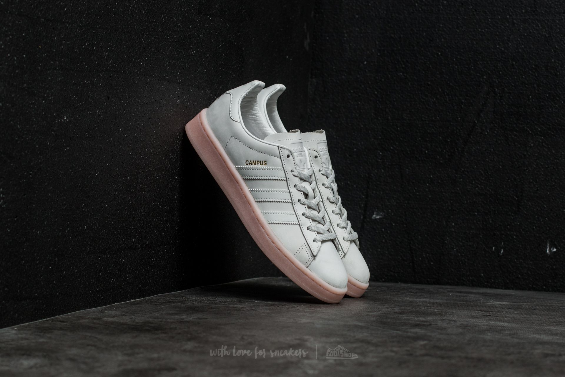 online store 04adc 1341c adidas Campus W Crystal White Crystal White Icey Pink  Foots