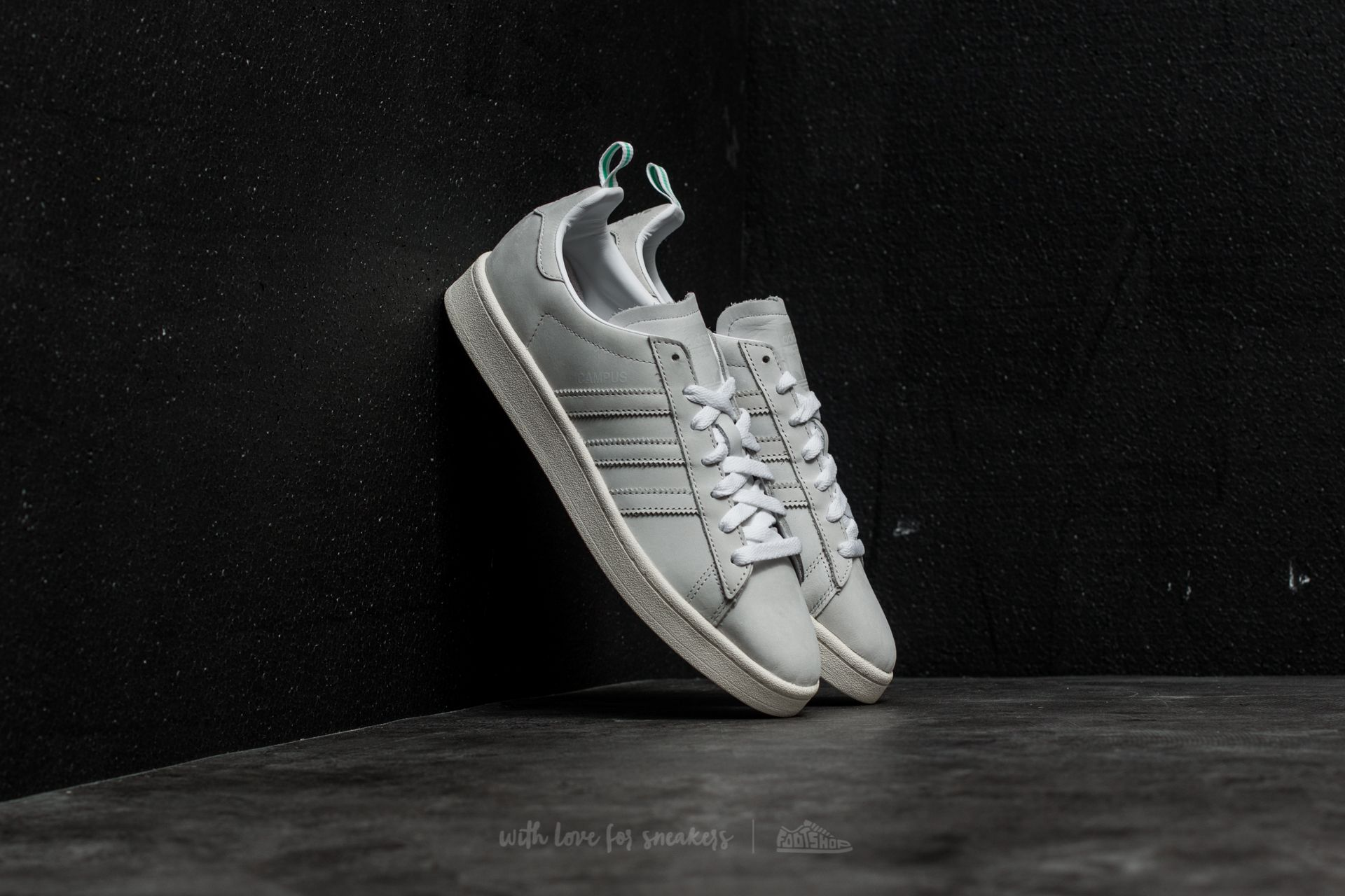 low priced 53af8 9f6a5 adidas Campus. Ftw White  Vintage ...