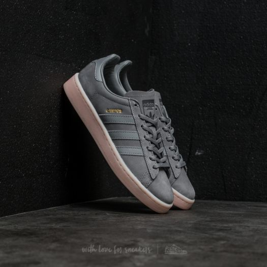 adidas Campus W Grey Three Grey Three Icey Pink | Footshop