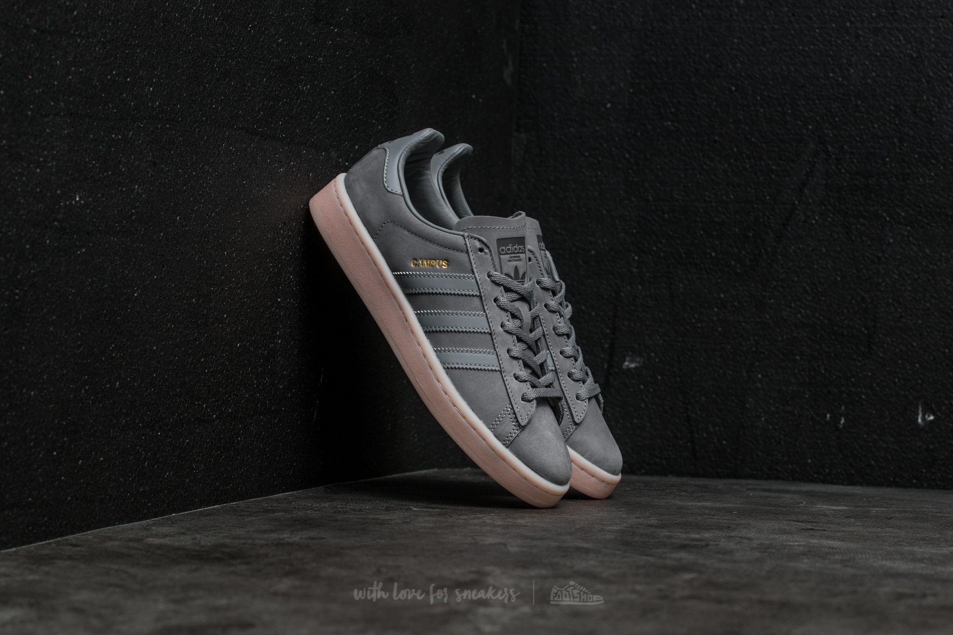 Three Footshop Adidas Icey Grey W Campus Pink qggtT4
