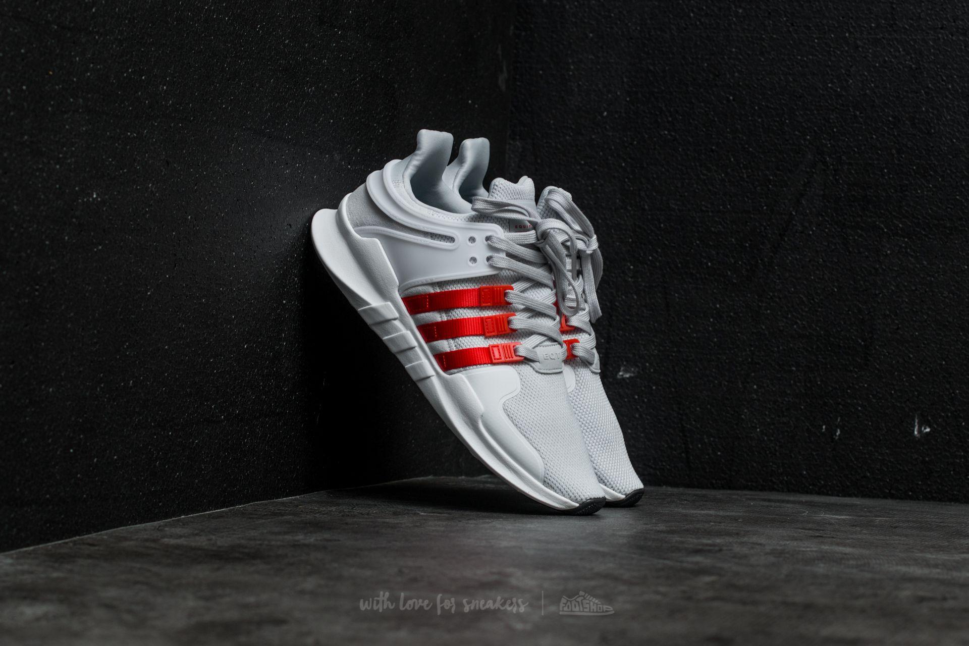 adidas EQT Support ADV Clear Grey /Bold Orange/ Ftw White | Footshop