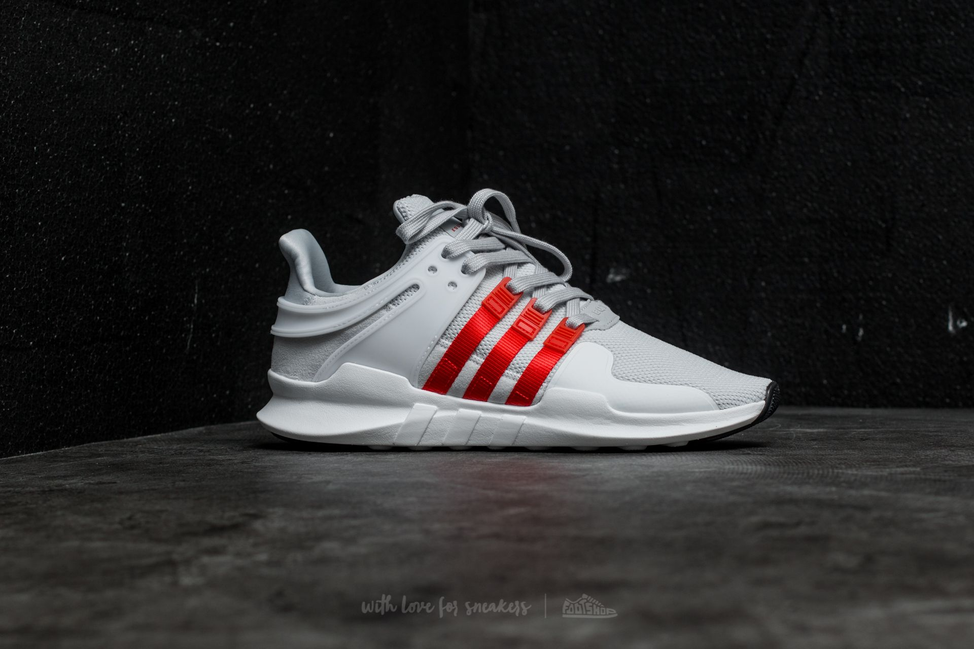 promo code 64ae6 86326 adidas EQT Support ADV Clear Grey /Bold Orange/ Ftw White ...