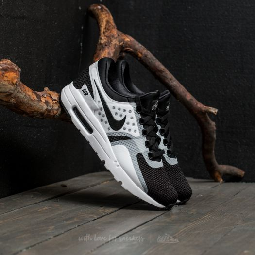 best service e5be2 a52cd Nike Air Max Zero Essential White/ Black-Black | Footshop