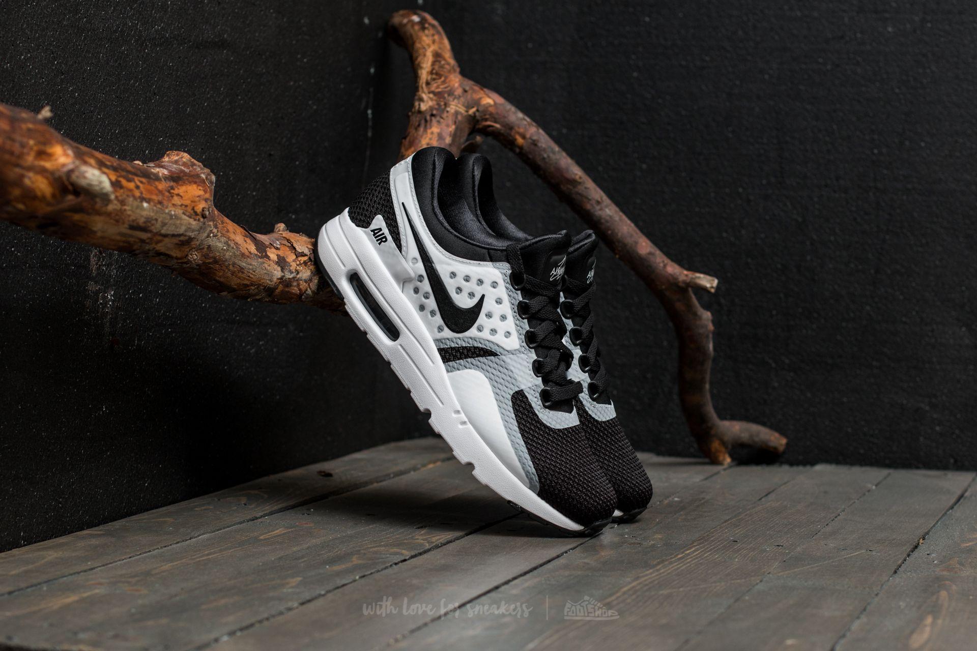 Nike AIR MAX ZERO ESSENTIAL WhiteBlackBlack