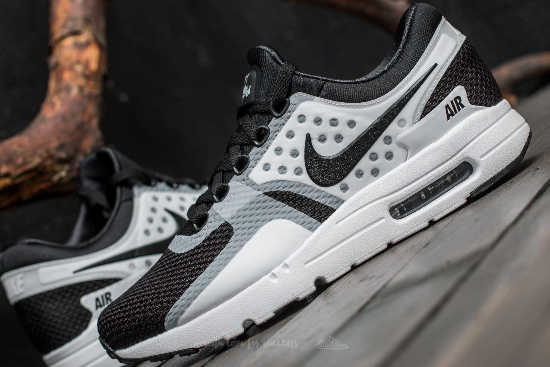 best service 0a614 f6afb Nike Air Max Zero Essential White/ Black-Black | Footshop