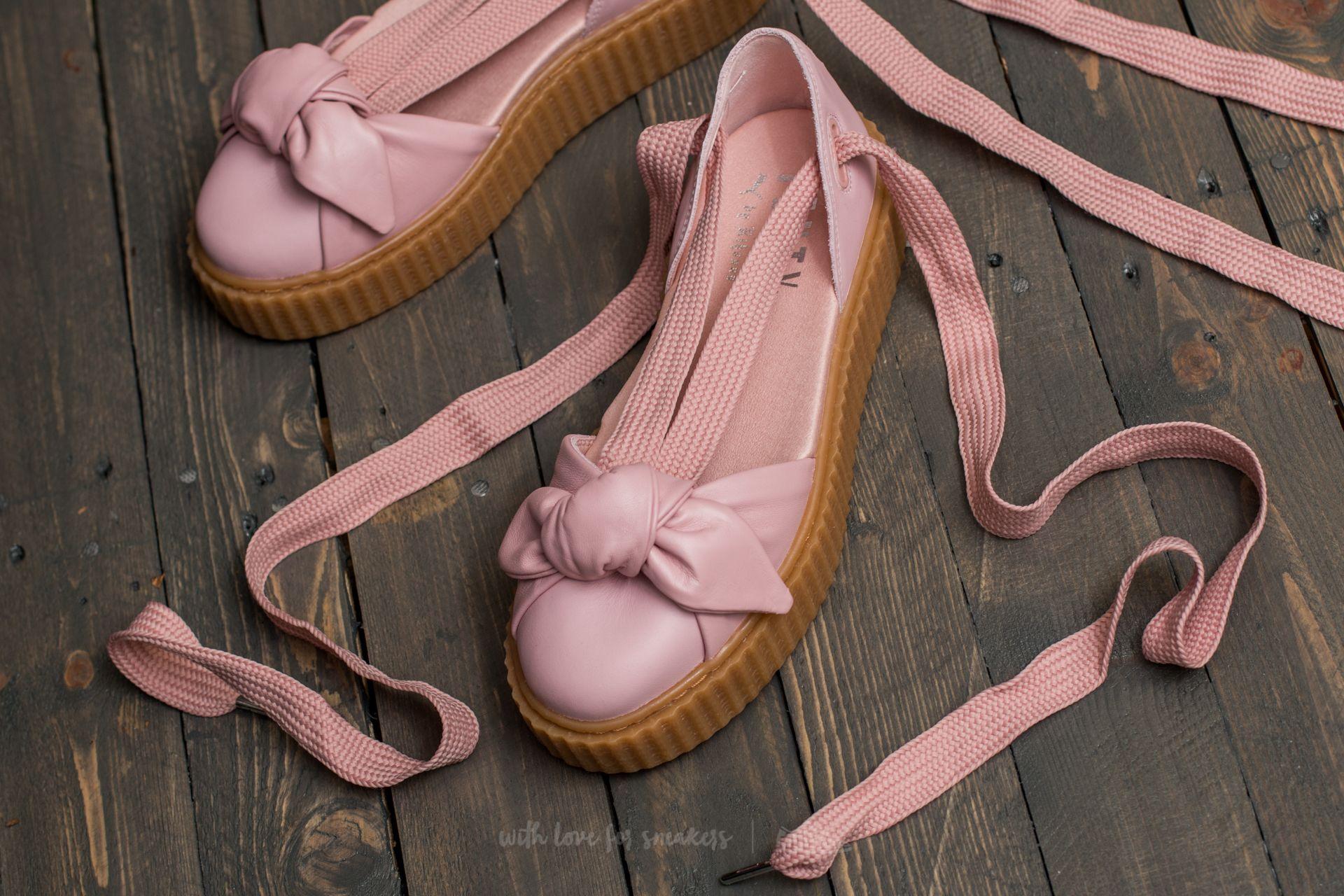 Puma Fenty Bow Creeper Sandal Silver Pink-Pink-Oatmeal   Footshop