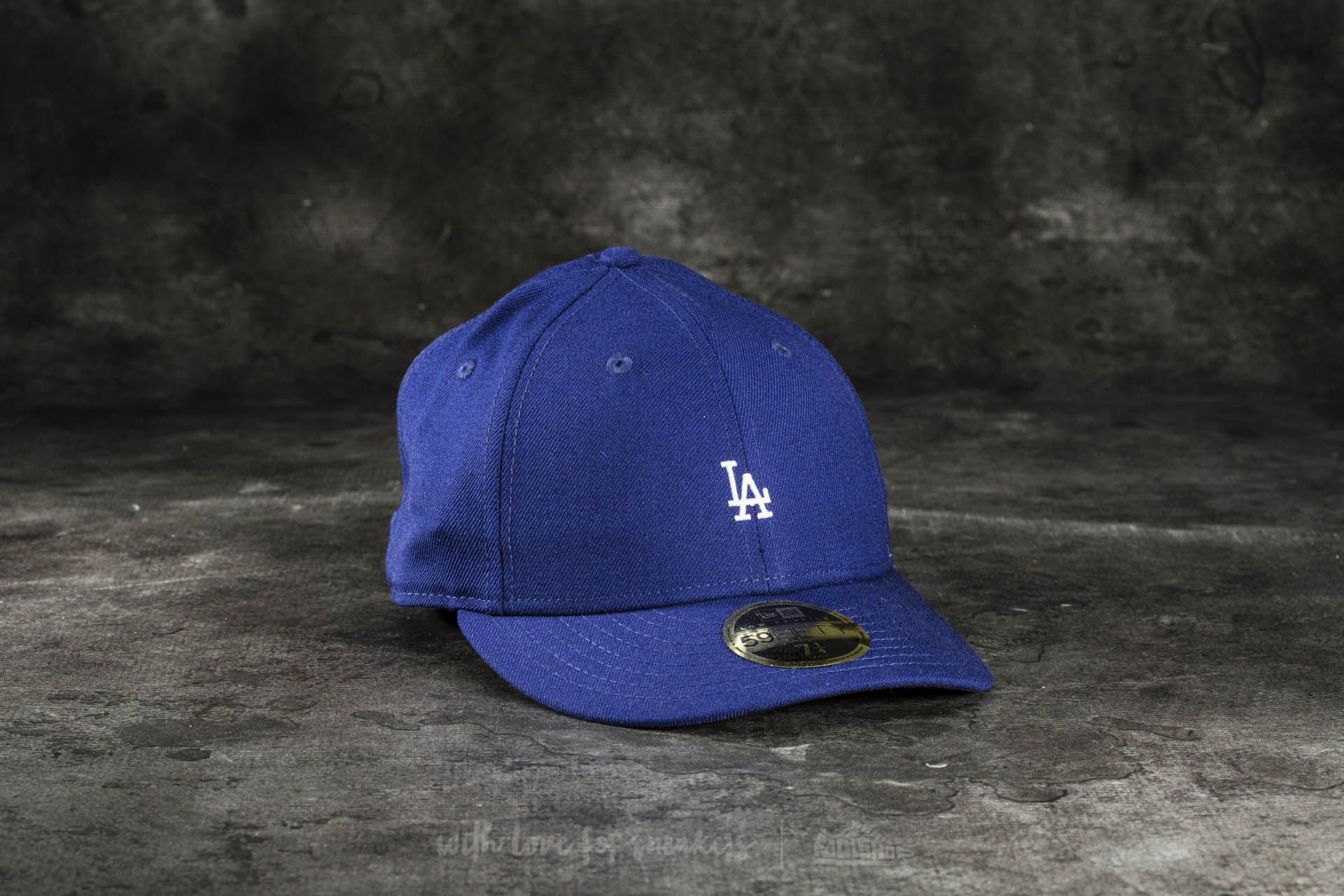 New Era 59Fifty Low Profile Mini Logo Los Angeles Dodgers Cap Blue at a  great price 118c3cbc5f3