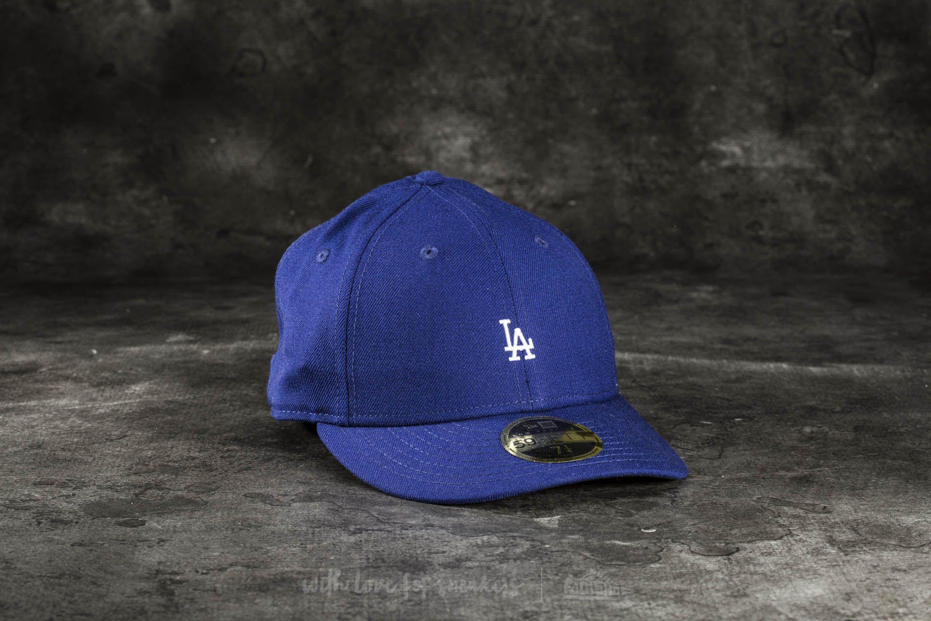 2d78e2b5773 New Era 59Fifty Low Profile Mini Logo Los Angeles Dodgers Cap Blue at a  great price