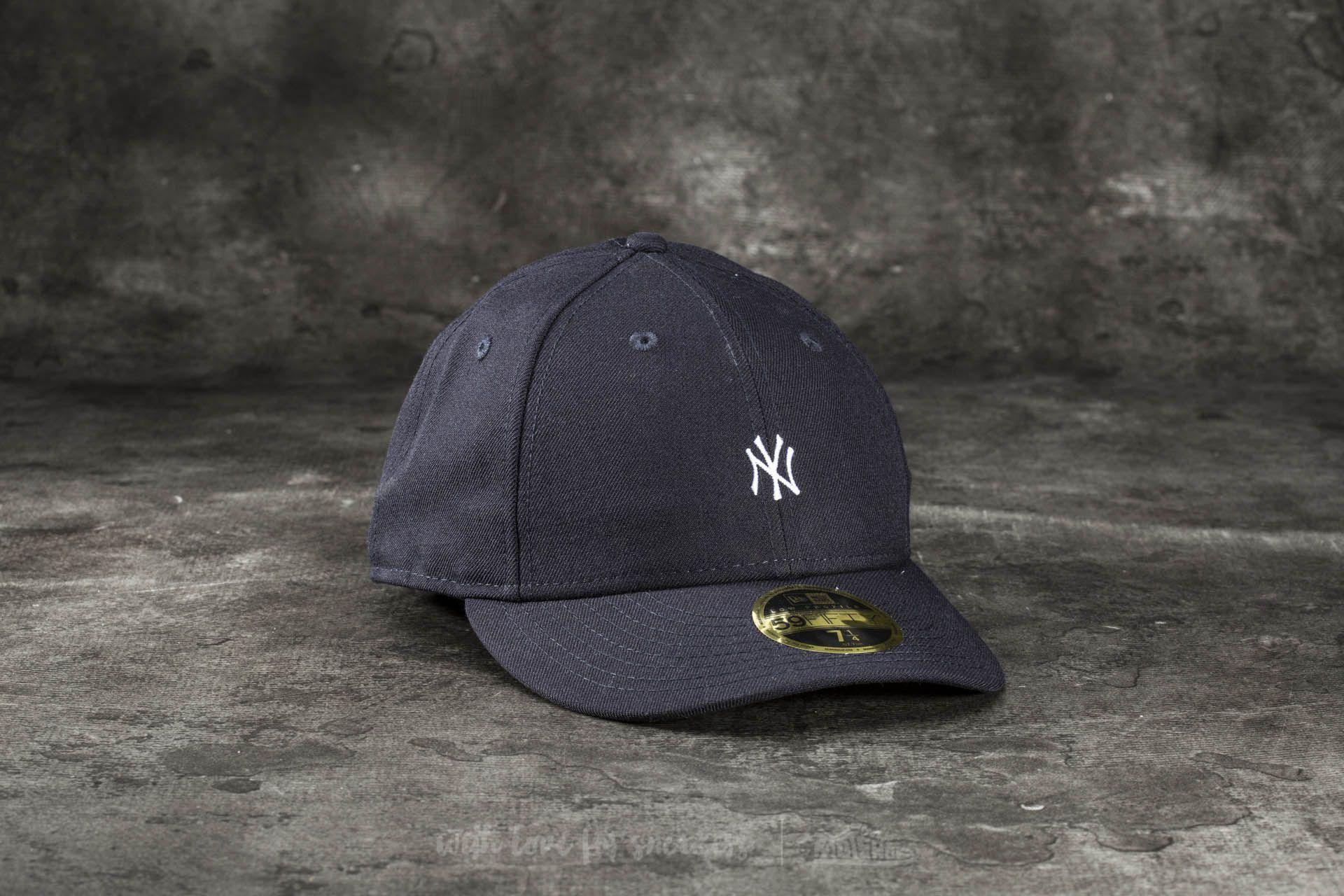New Era 59Fifty Low Profile Mini Logo New York Yankees Cap Navy ... 33484983299