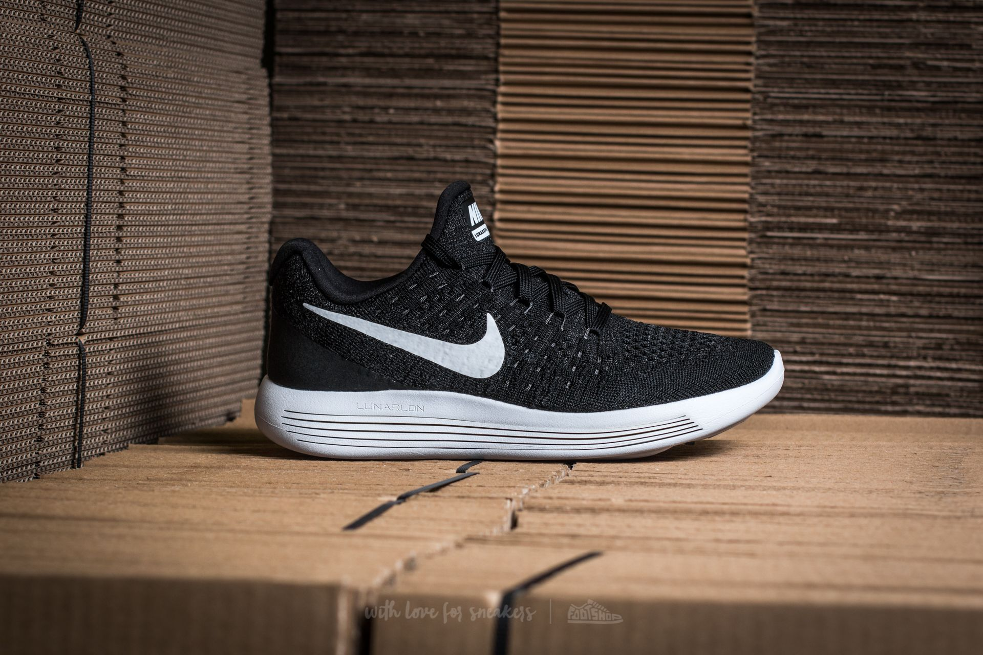 newest 72a70 22e08 NIke W Lunarepic Low Flyknit 2 Black/ White-Anthracite ...