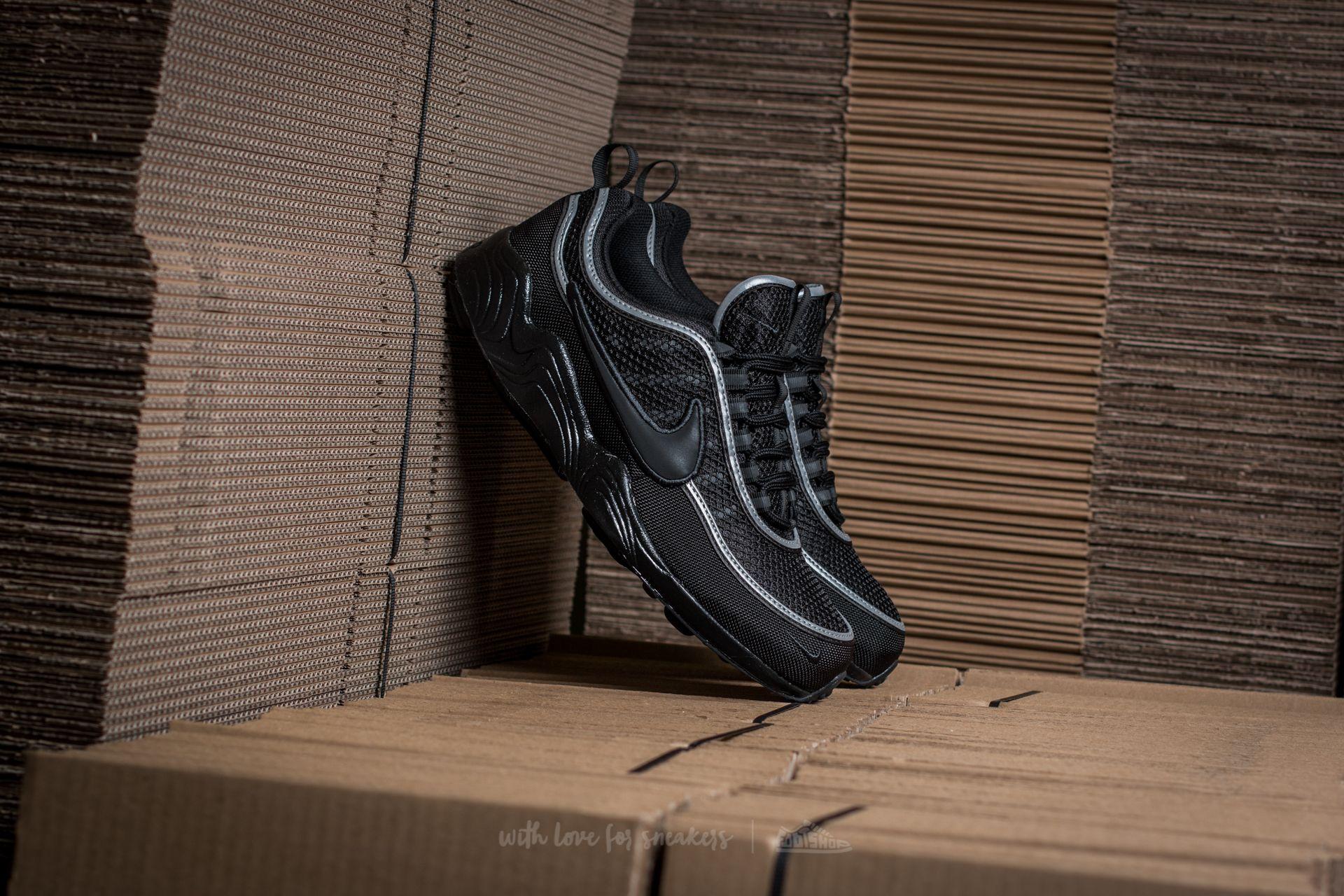 cemento Milagroso Casarse  Men's shoes Nike Air Zoom Spiridon ´16 Black/ Black-Anthracite   Footshop