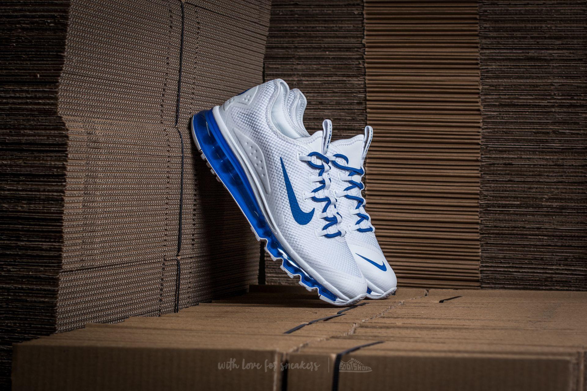 a5268d2d92c Nike Air Max More White  Game Royal-White