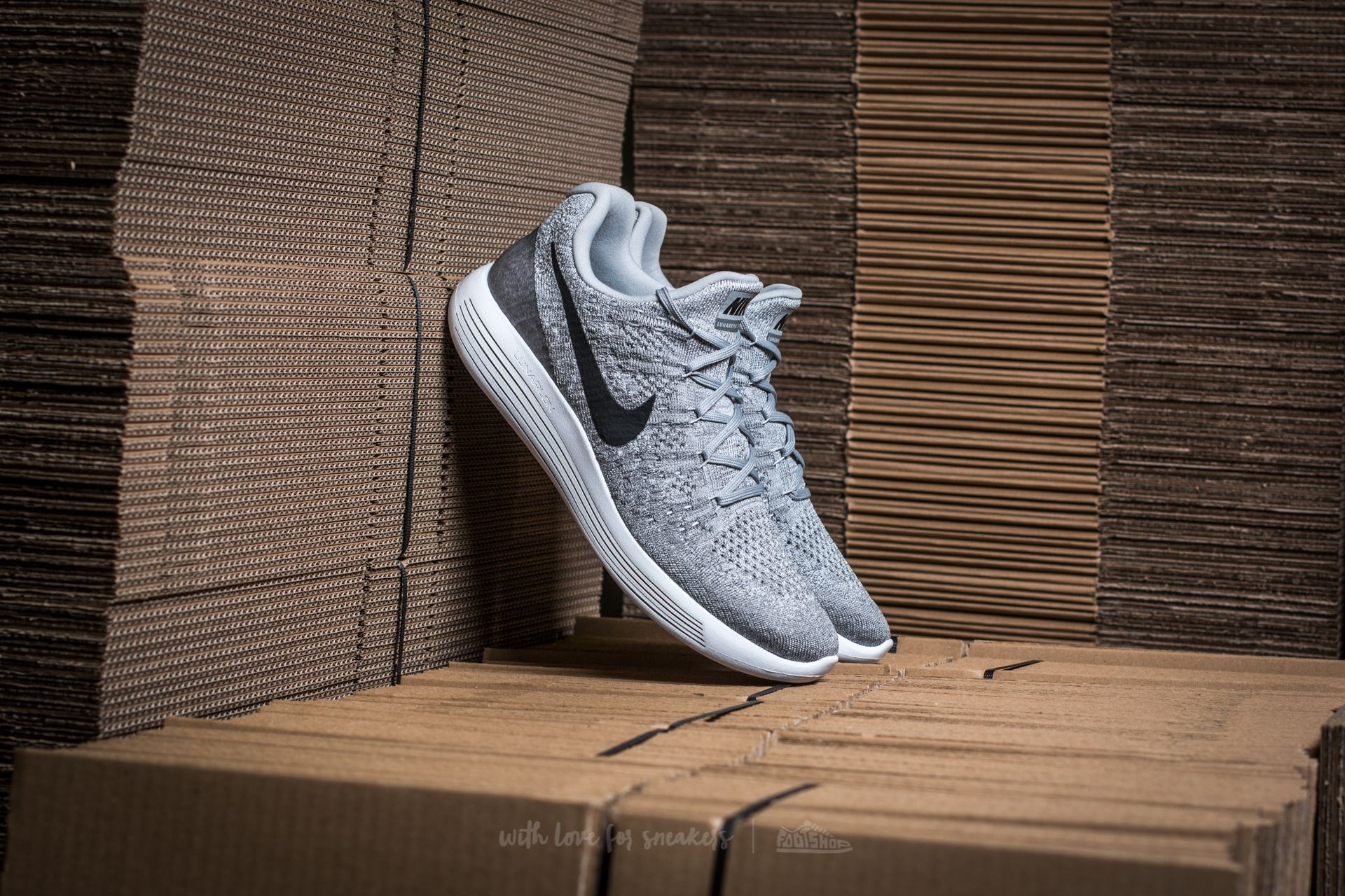 2d0f9f2224b1 Nike Lunarepic Low Flyknit 2 Wolf Grey  Black-Cool Grey