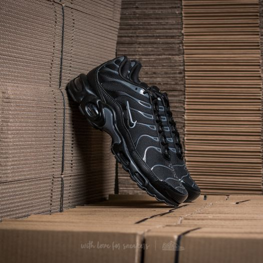 finest selection 81e78 92b7e Nike Air Max Plus Black/ Black-Pure Platinum | Footshop