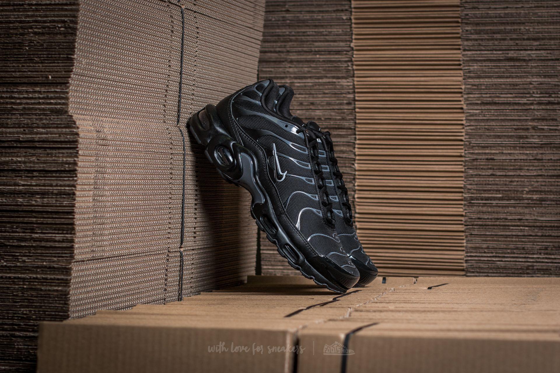 5f271cdaacf Nike Air Max Plus Black  Black-Pure Platinum