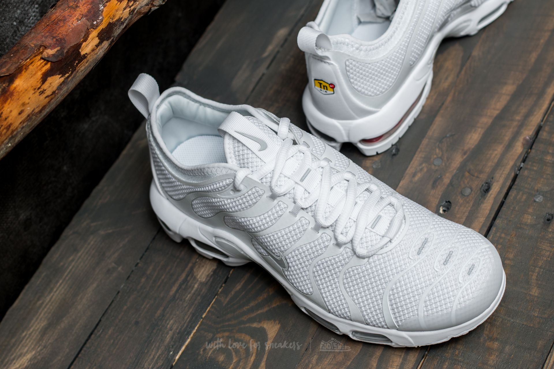 hot sale online 89c63 808b0 Nike Air Max Plus TN Ultra White/ Pure Platinum-White | Footshop